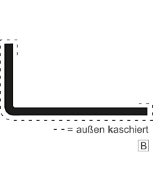 PVC-WinkelprAR weiß 100x100x3,0 Baustoffe & Leisten & Griffe Shop rolf-fensterbau.de
