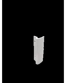 Balkontürziehgriff Alu weiß