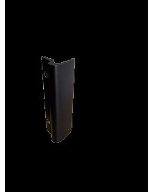 Balkontürziehgriff Alu schwarz