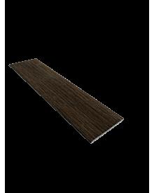 PVC-Flachleiste dekor  50x3,0 Mooreiche 0115