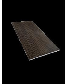 PVC-Flachleiste dekor 100x3,0 Mooreiche 0115