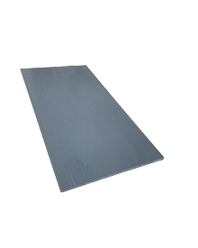 PVC-Flachleiste dekor 100x3,0 Basaltgrau 0128
