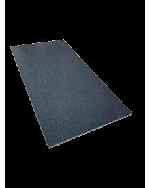 PVC-Flachleiste dekor 100x3,0 Anthrazitgrau 0104