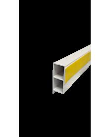 PVC-KammerprMN weiß  40x15x1,2