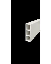 PVC-KammerprON weiß  65x15x1,4