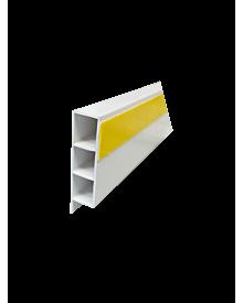 PVC-KammerprMN weiß  60x15x1,4