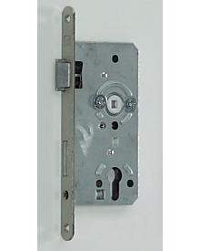 Einsteckschloß PZ Kl. 2 silbermetallic DIN rechts Dornmaß: 55 mm