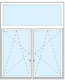2tlg. Fenster