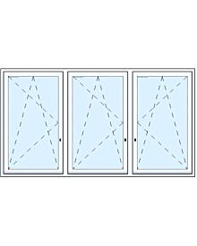 2 tlg. Balkontüre mit zwei Oberlichtern Comfortline Fenster Fenster rolf-fensterbau.de