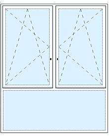 3tlg. Fenster Comfortline Fenster Fenster rolf-fensterbau.de