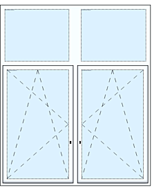 2tlg. Schiebetüre Fenster Fenster & Türen rolf-fensterbau.de
